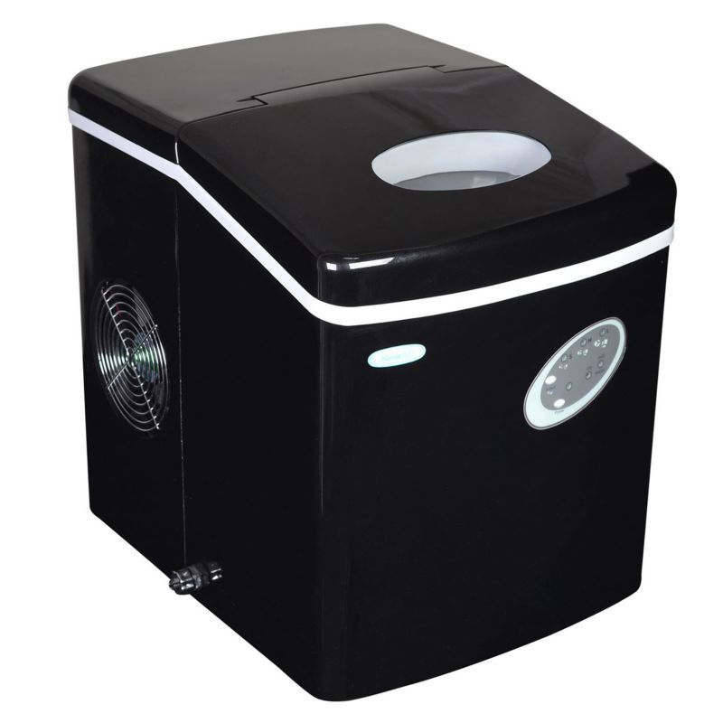 NewAir Portable Ice Maker, Black thumbnail